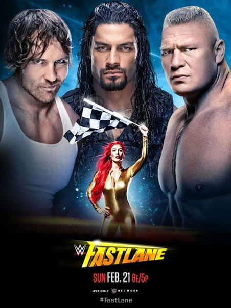 Post image of WWE Fastlane 2016