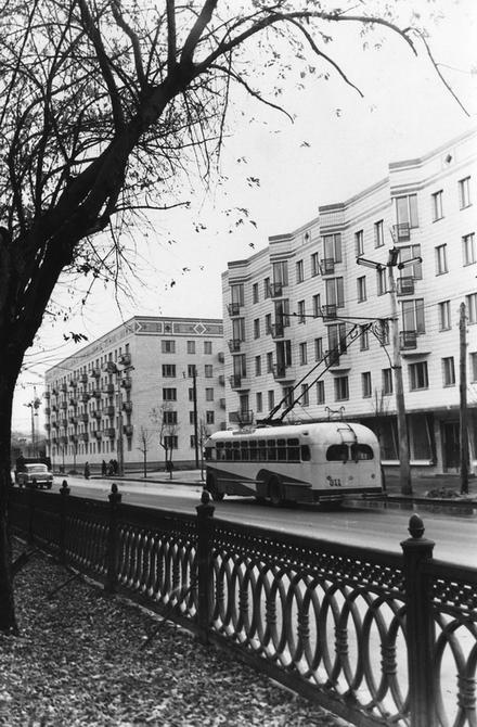1960.10.22. Бульвар Тараса Шевченко.