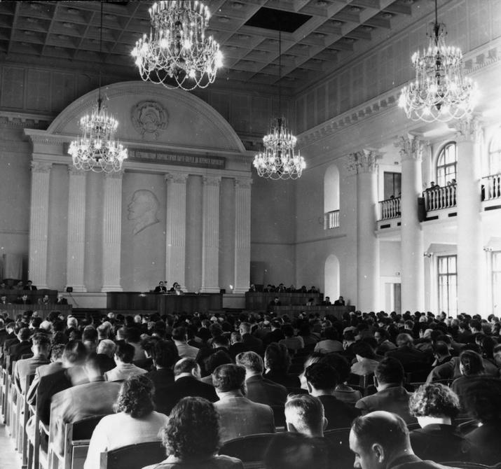 1960.09. Сессия Киевского городского Совета народных депутатов
