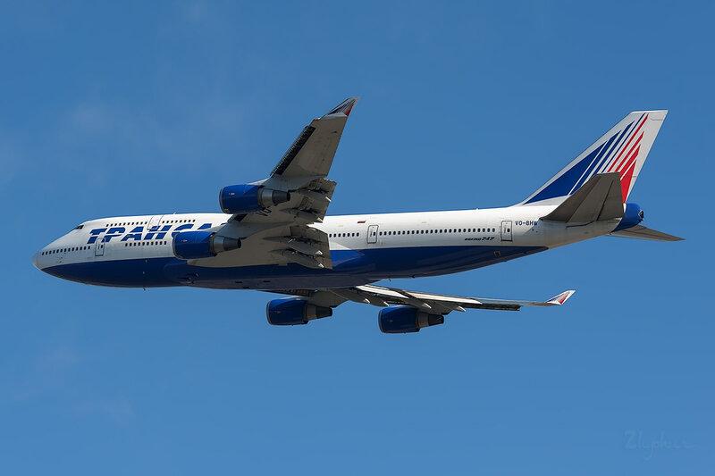 Boeing 747-4F6 (VQ-BHW) Трансаэро DSC6706