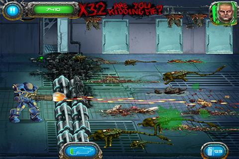 Soldier vs Aliens (Android игры)