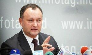Додон пригрозил минтранспорту за попытку срыва протестов