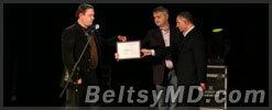 В Молдове награждены лучшие журналисты 2012 года