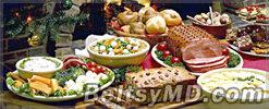 Продукты — обязательные к новогоднему столу