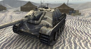 Пустынная шкурка для JagdPanther