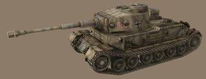 Шкурка для немецкого танка PzKpfw VI Tiger (P)