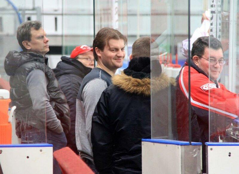 Предрождественская тренировка ХК «Спартак» (Фото)