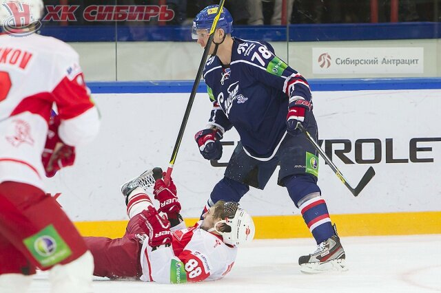 «Сибирь» vs «Спартак» 1:2 ОТ чемпионат КХЛ 2012-2013 (Фото)
