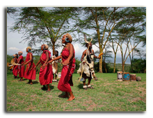 Кения. Озеро Накуру. Sarova Lion Hill Game Lodge. Cultural-dances