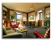 Италия. Флоренция. The Westin Excelsior, Florence. Living room Presidential Suite