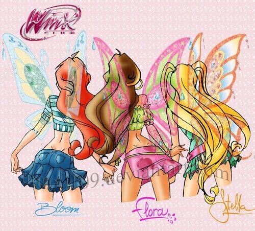 Салон стиля и красоты - игра для девочек winx!