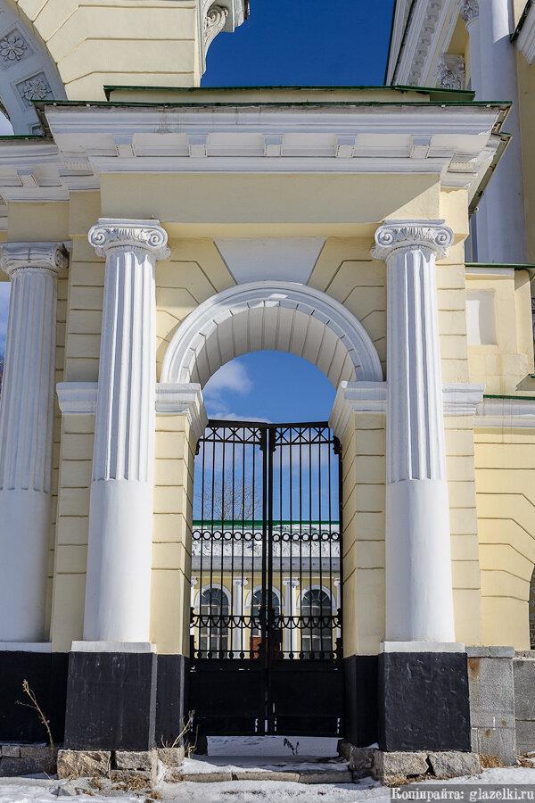 Екатеринбург. Ионический ордер.