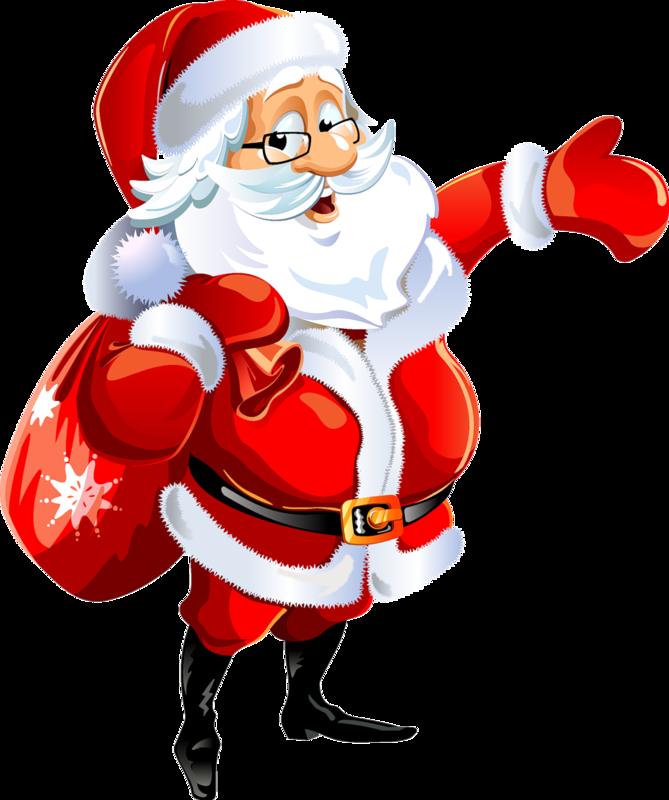 Дед мороз с подарками картинки, утро андрей картинки