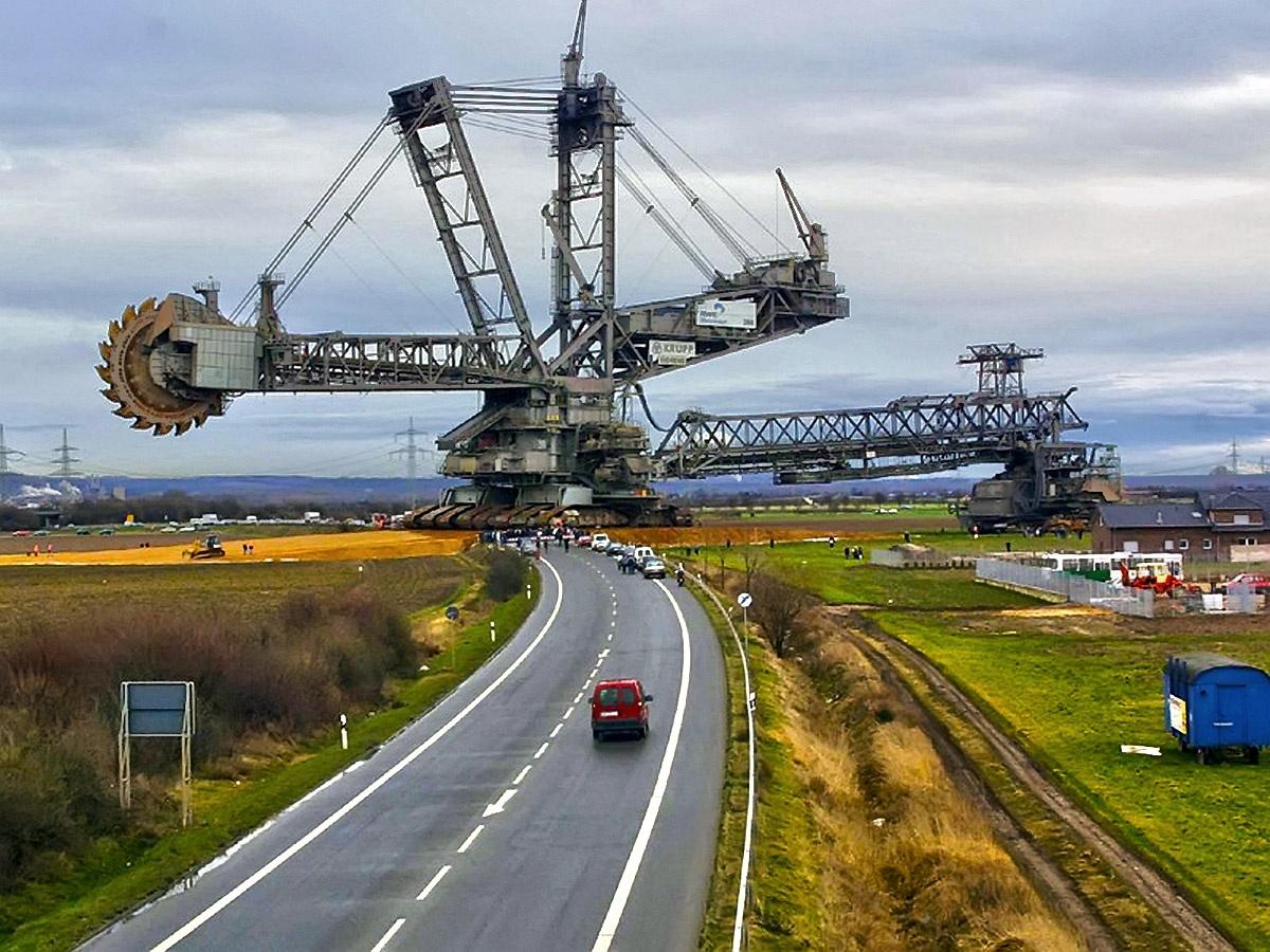 Фото самых больших в мире экскаваторов