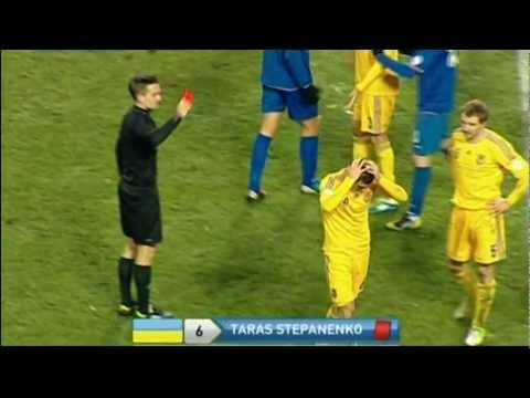 Супер удар от Тараса Степаненко (Украина-Молдавия 26.03.13)