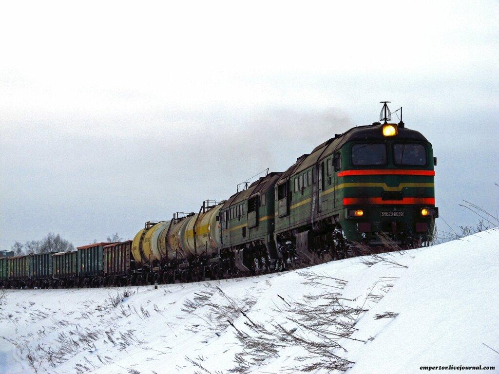 Возвращение грузовых поездов на линию Сонково-Савелово-Дмитров. Январь 2013 года. 0_a1858_9aff3f50_XXL