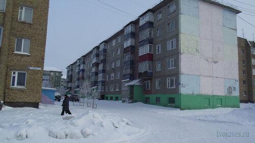 Фотография Инты №3492  Северо-западный угол Морозова 12 10.02.2013_12:03