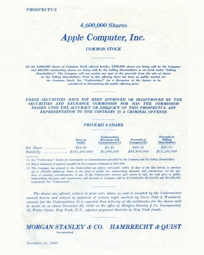 В 1980 году Apple Computer вышла на IPO. В Кремниевую долину хлынул поток инвесторов, которые хотели