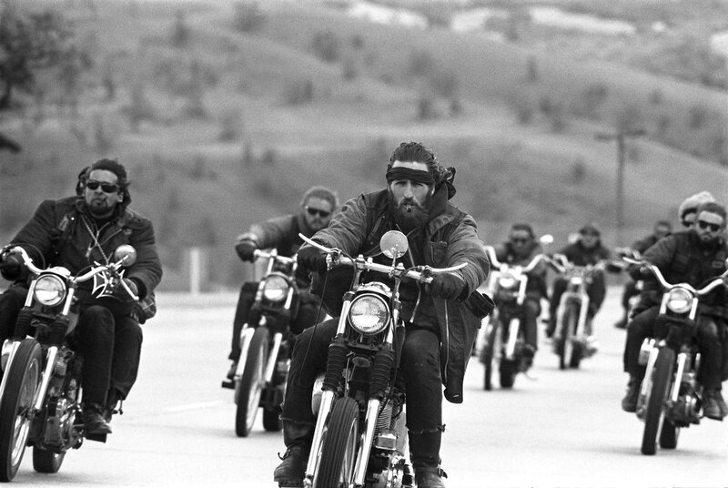 LIFE Rides With the Hells Angels, 1965
