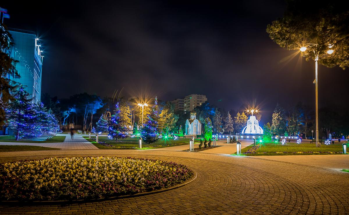 Фото новогодней Анапы 2016