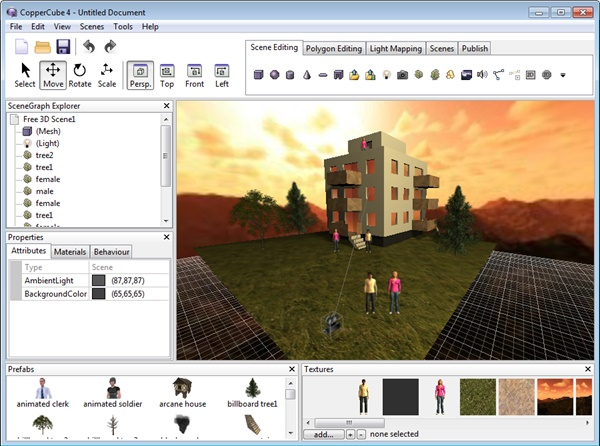 CopperCube 4.3 Professional Edition скачать