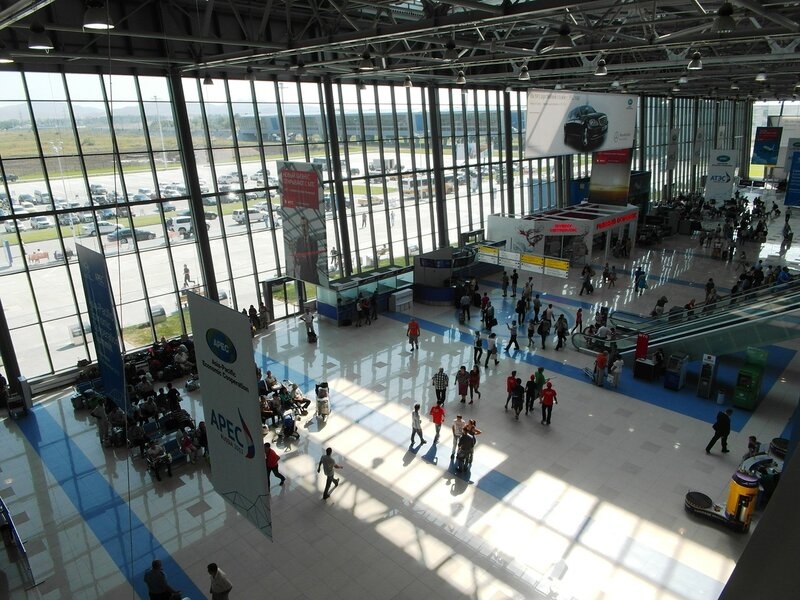 Аэропорт Хабаровск табло международного аэропорта