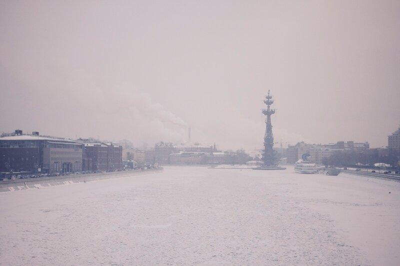 Москва Зима Утро
