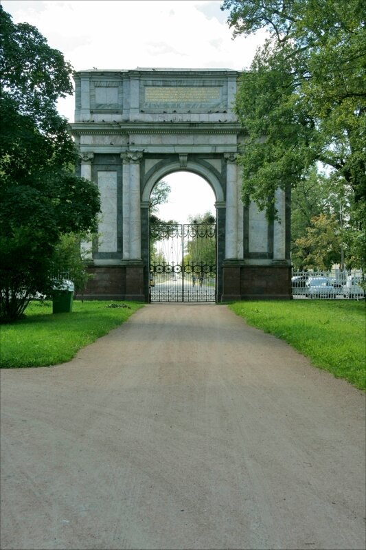 Екатерининский парк, Орловские (Гатчинские) ворота
