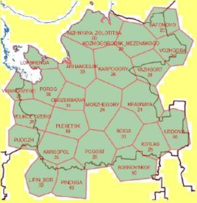 частотно-территориальный план