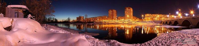 Челябинск. ул. Университетская набережная, март 2013
