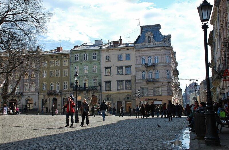 Улицы и площади Львова