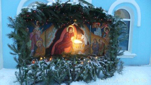 Рождество Христово Свято-Никольский храм г.Воронежа 2013