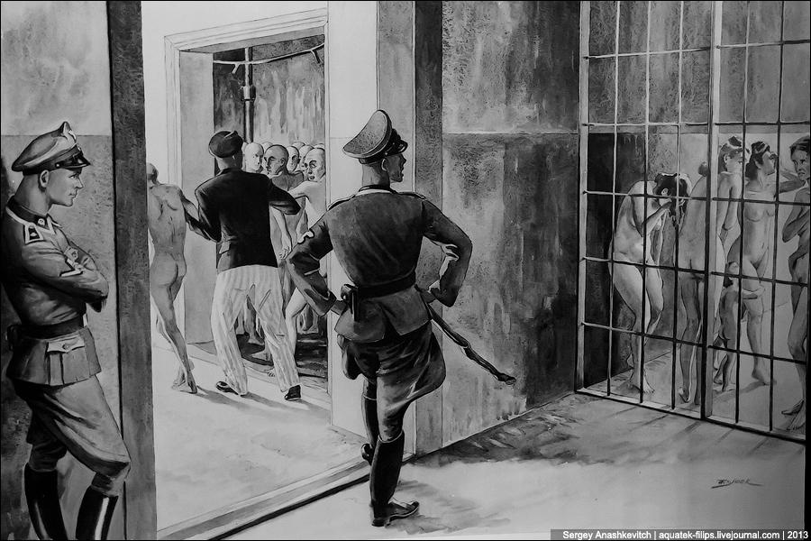 Рисунки узников Освенцима