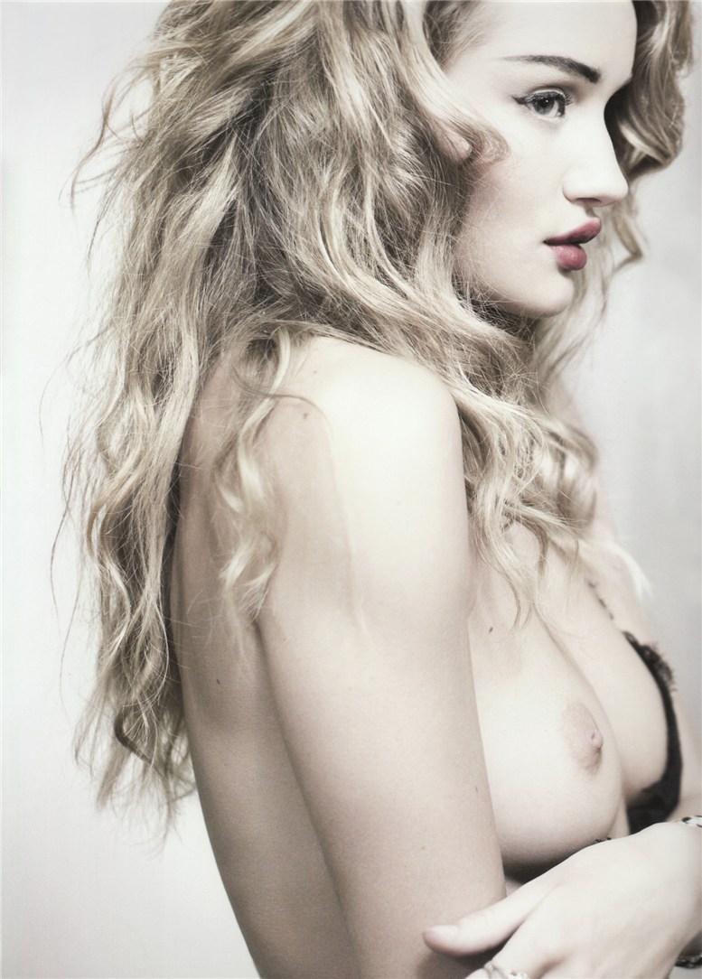 модель Роузи Хантингтон-Уитли / Rosie Huntington-Whiteley, фотограф Rankin