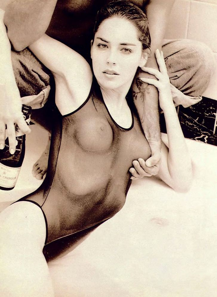 Sharon Stone / голая Шэрон Стоун в журнале Playboy USA july 1990 / фотограф Phillip Dixon