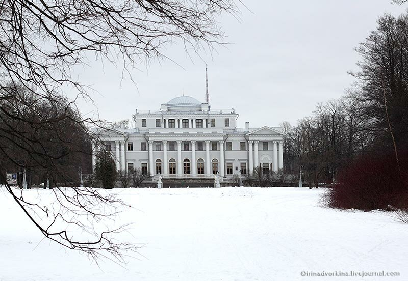 Елагиноостровский дворец-музея