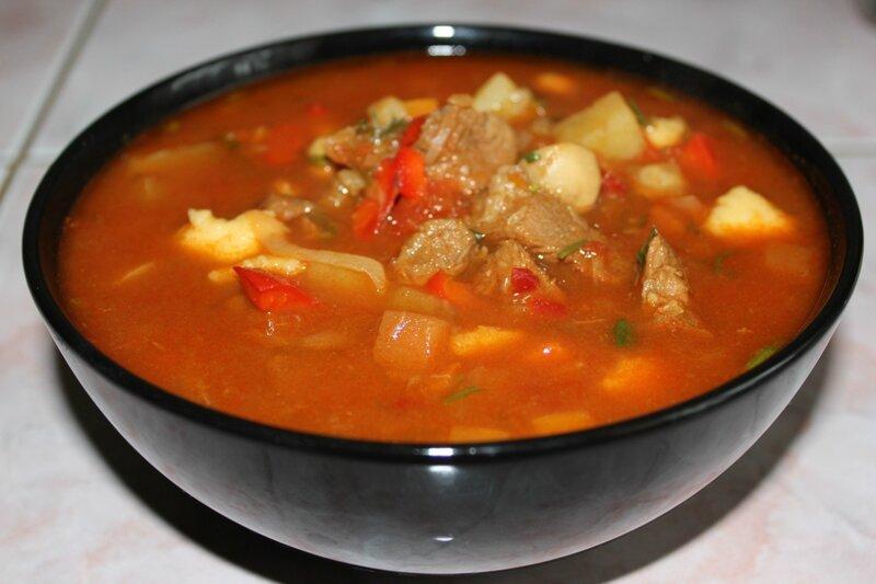рецепт вкусного супа гуляша по венгерски