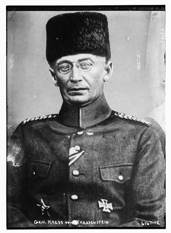 Gen. Kress Von Kressenstein.
