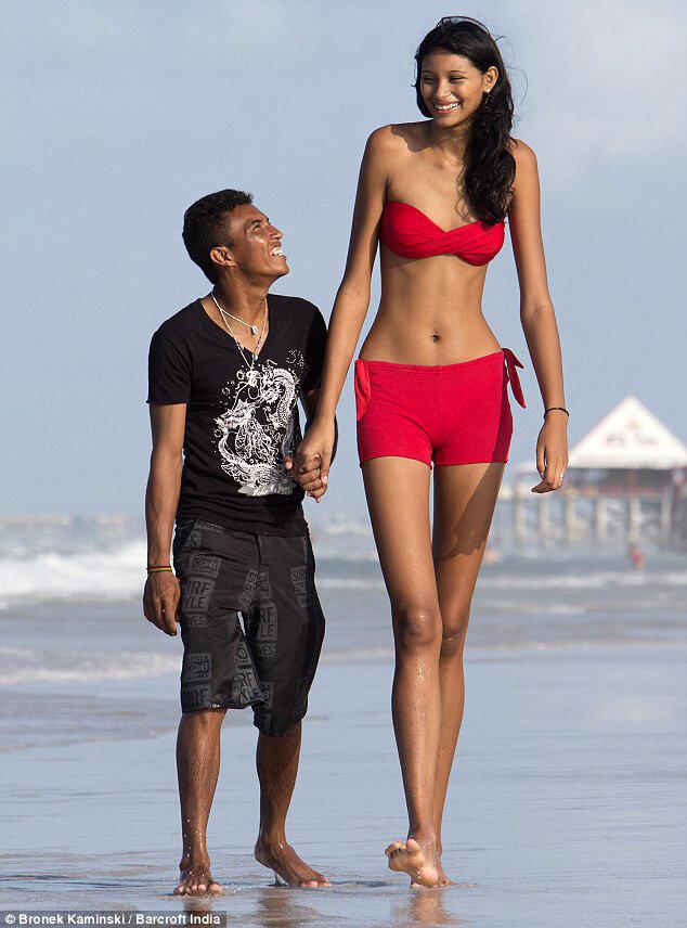 Самая высокая девушка