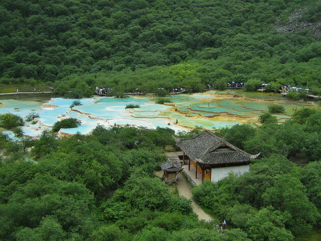 Хуанлун. Китай