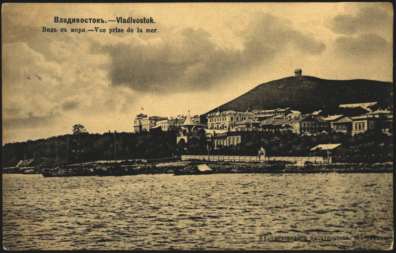 Владивосток Вид с моря 1904.