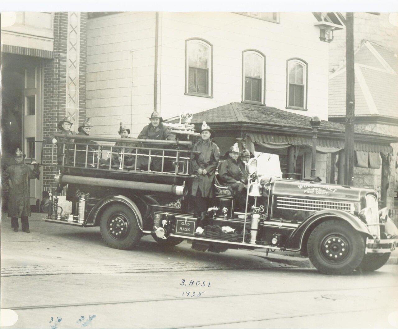 Пожарный пункт №3 1938 г.