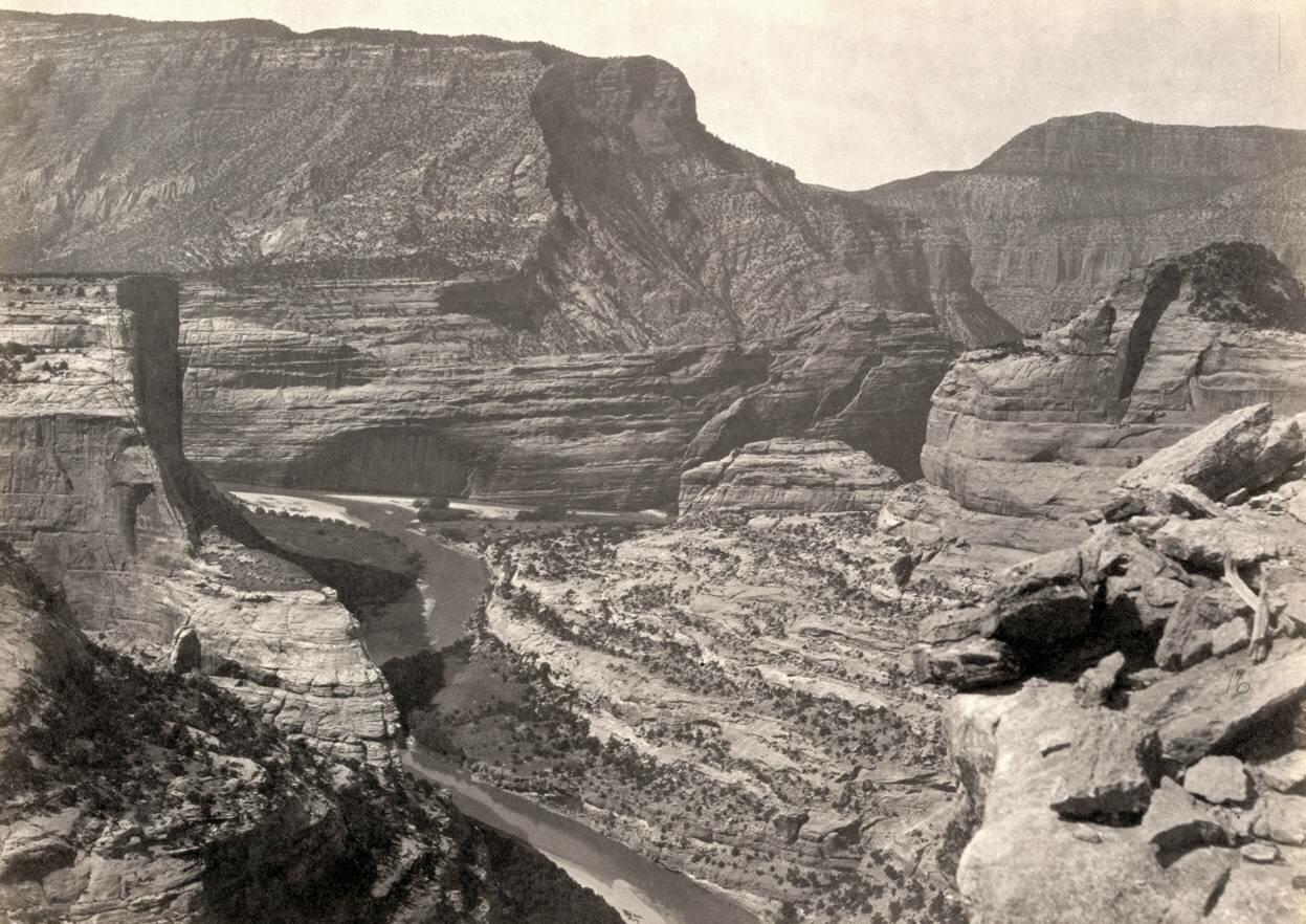 Ямпа-Каньон в штате Юта, 1872 г.
