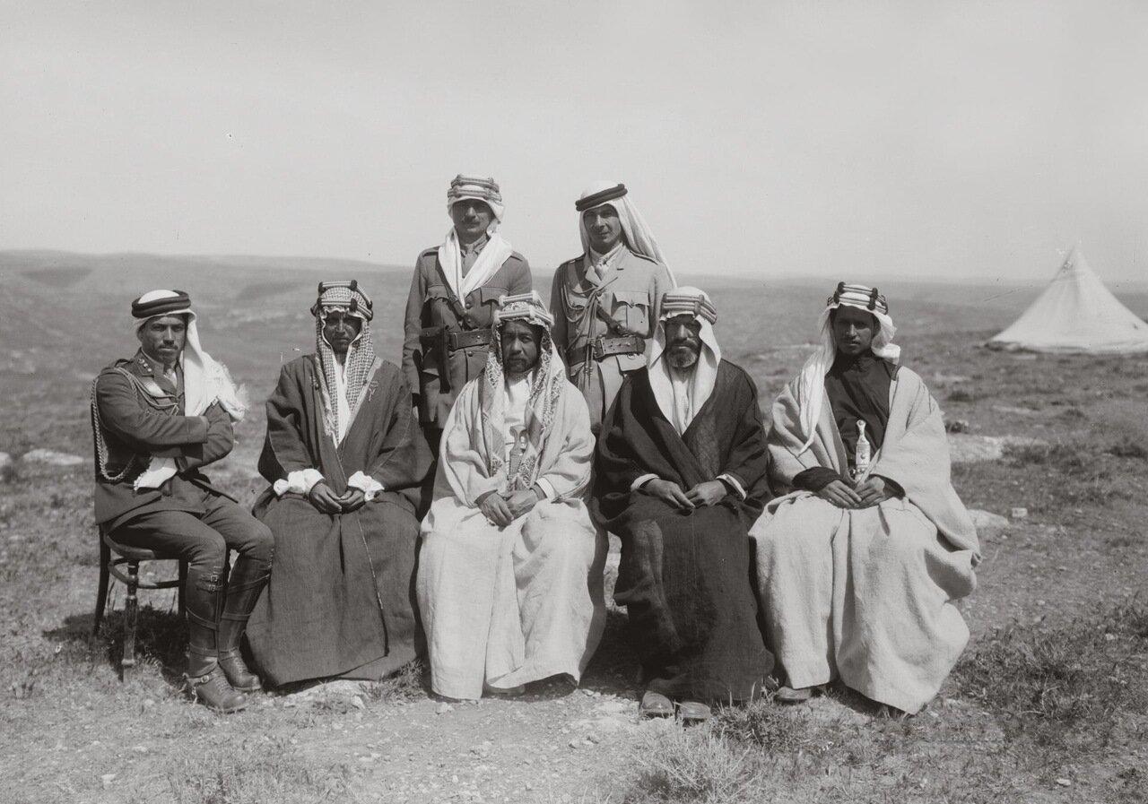 Эмир Абдулла и эмир Шакир. Трансиордания. 19 апреля 1921 г.