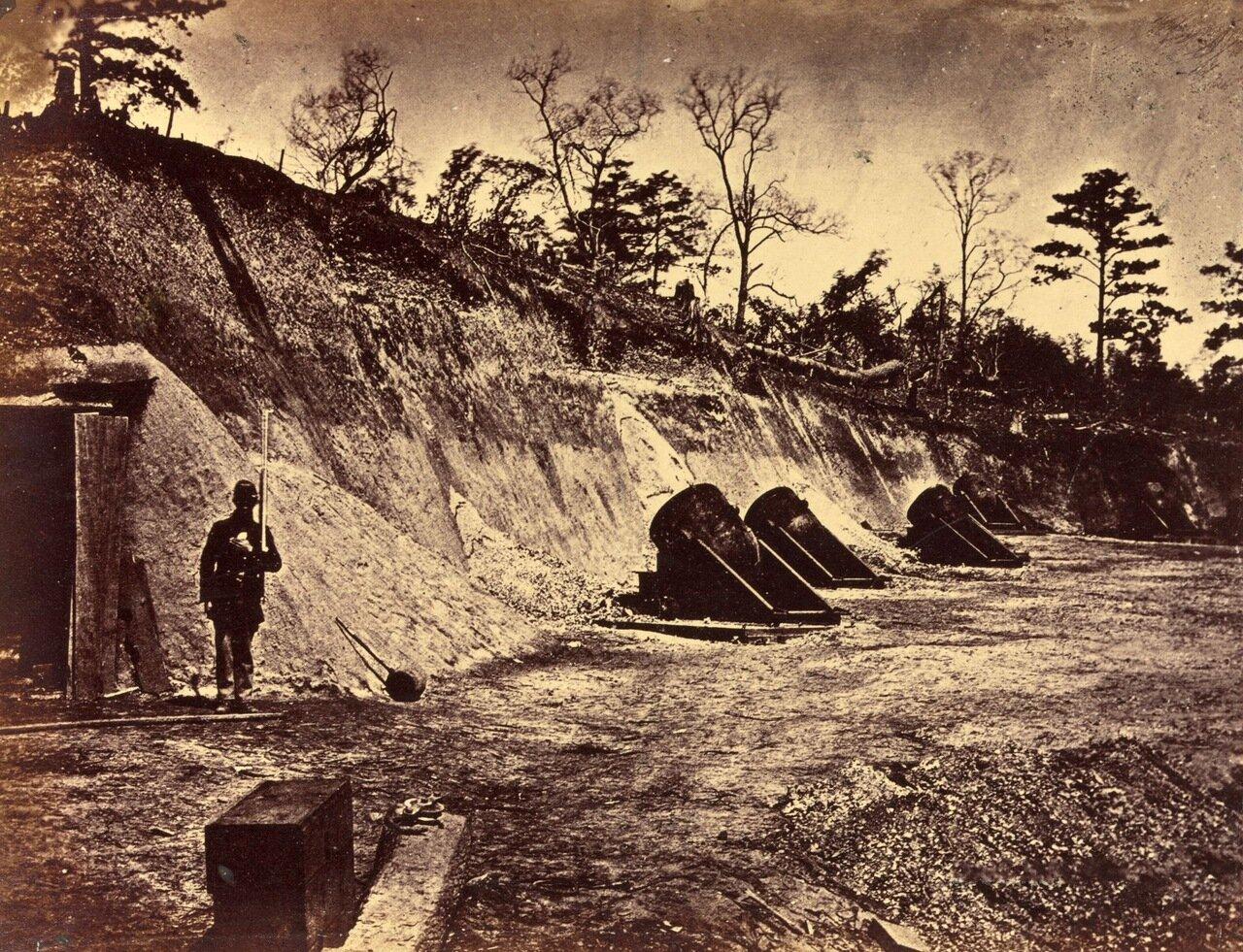 Минометная батарея № 4, возле Йорктауна, штат Вирджиния. Май 1862 г.