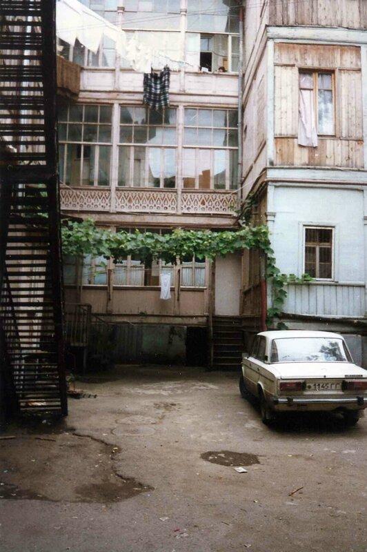Закаблуцкая Елена, Тбилисский дворик