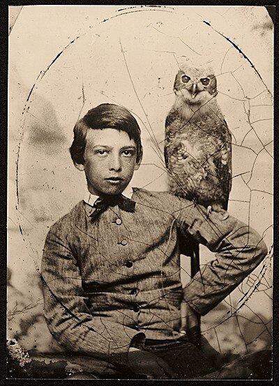 Artist Abbott Handerson Thayer as a boy c. 1861