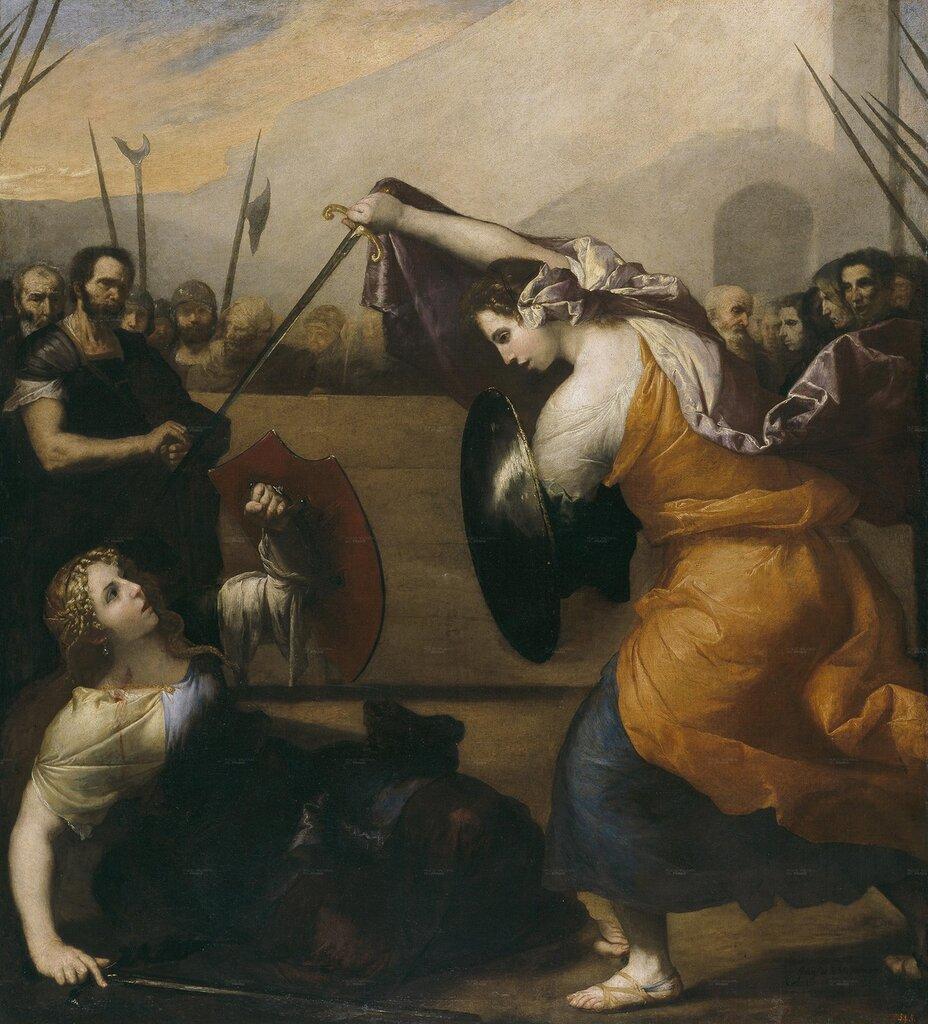Дуэль считается прерогативой мужчин, но это мнение ошибочное. Женщины тоже были не прочь сразиться друг с другом.