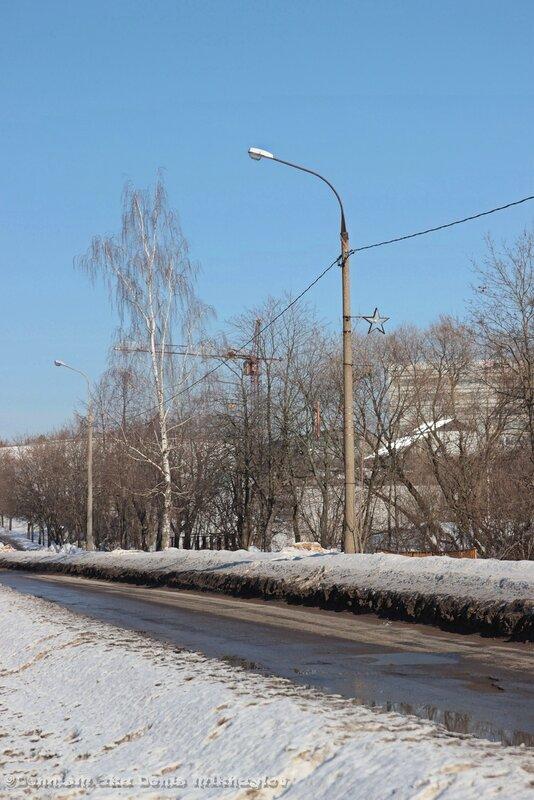Фрязино. Московская улица.