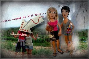 текстильная шарнирная кукла с портретным сходством